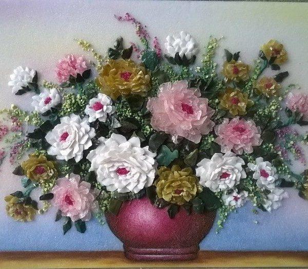 gemstone-painting-basket-chrysanthemum-3