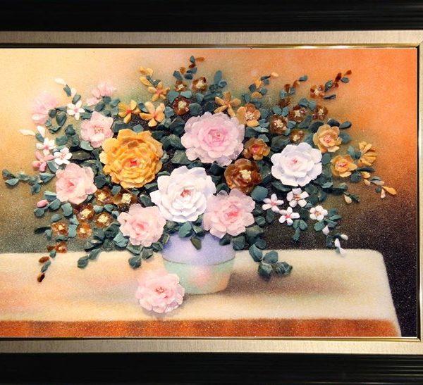 gemstone-painting-basket-chrysanthemum-8