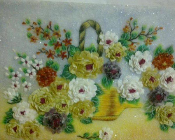 gemstone-painting-chrysanthemum