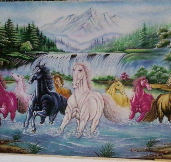 gemstone-painting-eight-horse-2