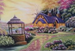 Gemstone painting - foreign landscape 31