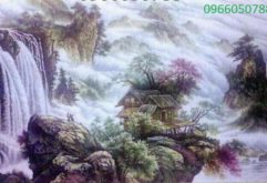 Gemstone painting - foreign landscape 35