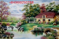 Gemstone painting - foreign landscape 45