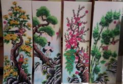 Gemstone painting - four-season picture 16