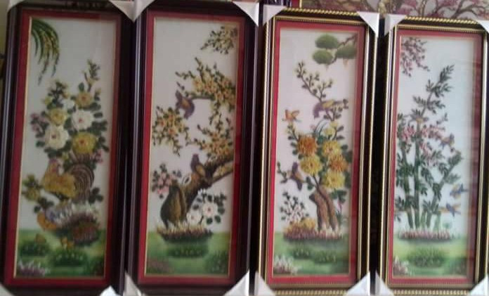 Gemstone painting - four-season picture 5