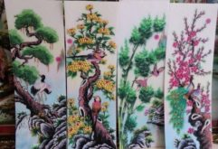 Gemstone painting - four-season picture 7