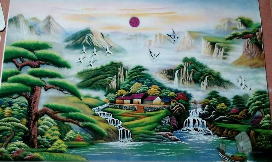 gemstone-painting-landscape-vietnam