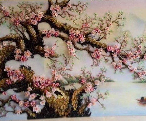 gemstone-painting-peach-blossom-9
