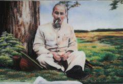 Gemstone painting - portraits Ho Chi Minh 1