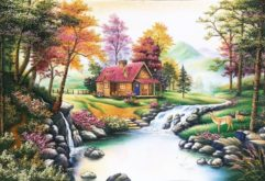 gemstone-painting-small-house