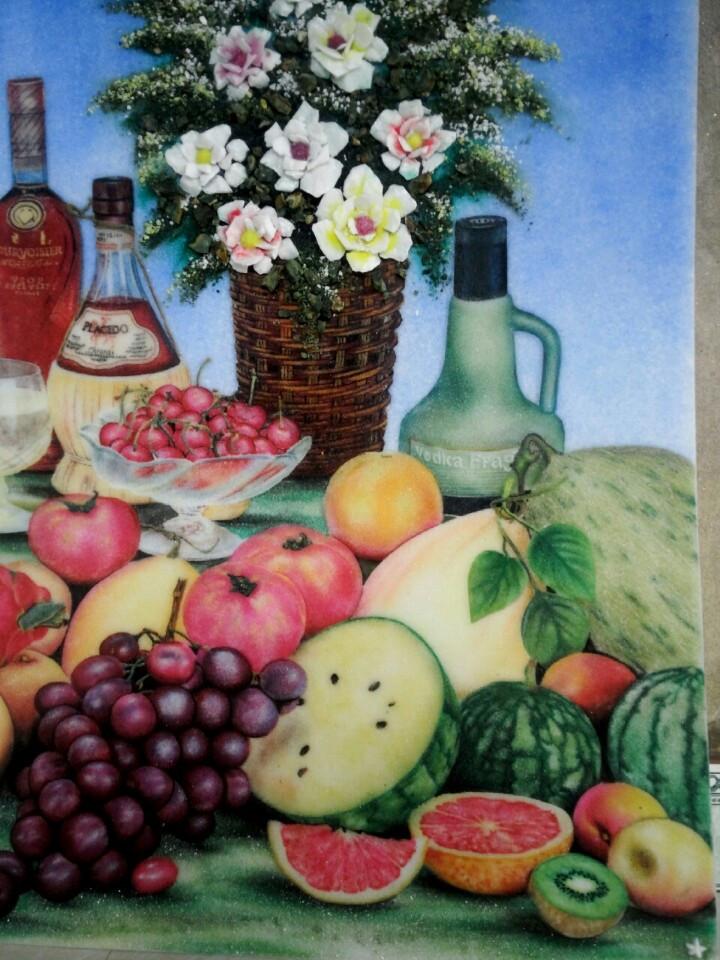 Gemstone painting - still-life 2