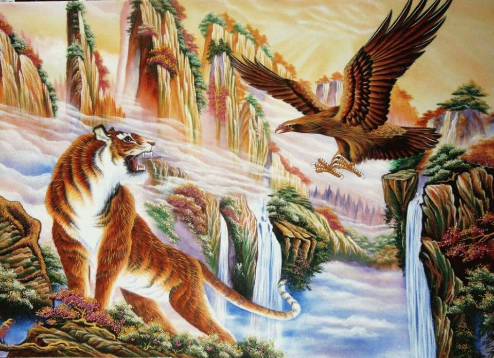 gemstone-painting-tiger-eagle