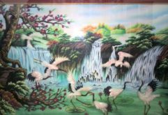 Gemstone painting - Vietnamese water-colour 14