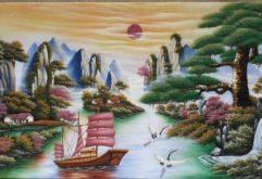 Gemstone painting - Vietnamese water-colour 20