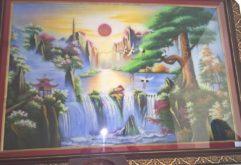 Gemstone painting - Vietnamese water-colour 21