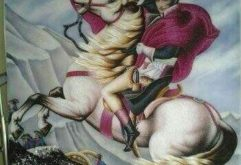 Gemstone painting - portraits Napoleon 1