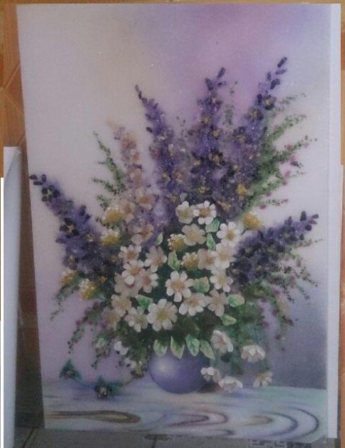Still-life - gemstone painting 2