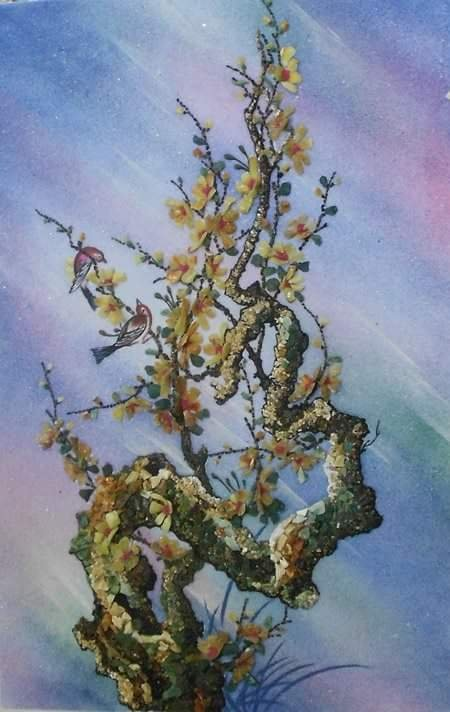 Still-life - gemstone painting 4