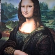 Gemstone painting Mona Lisa 2