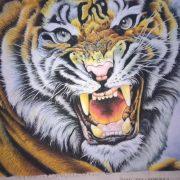 Gemstone painting tiger 7