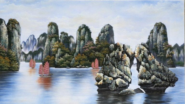 gemstone-painting-Vinh-Ha-Long-bay
