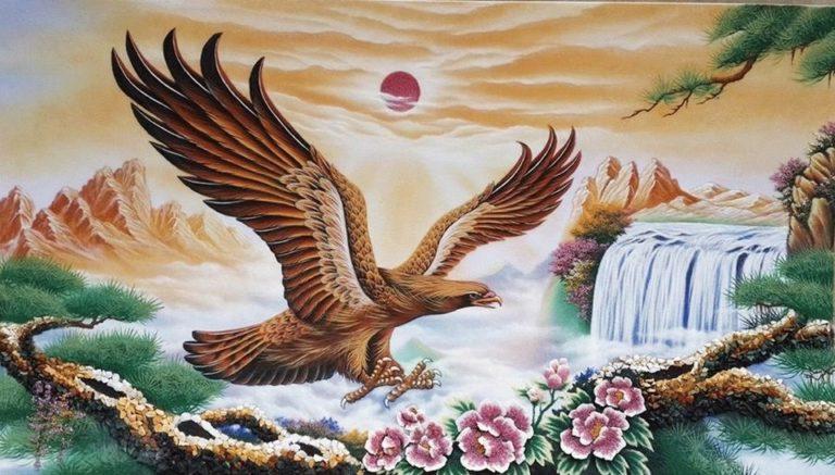 gemstone-painting-eagle