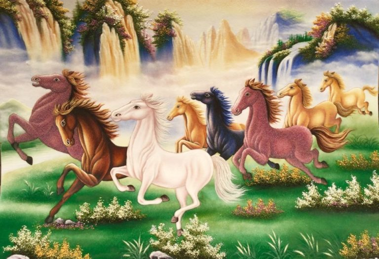 gemstone-painting-eight-horse-19