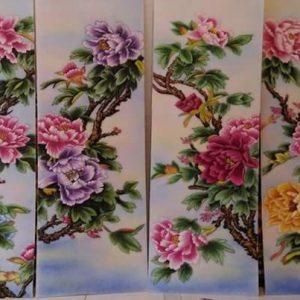 Gemstone painting - four-season picture 12
