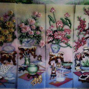Gemstone painting - four-season picture 4