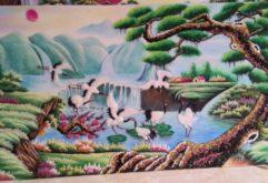 Gemstone painting - Vietnamese landscape 10
