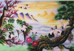 Gemstone painting - Vietnamese landscape 11