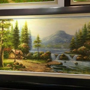 Gemstone painting - landscape Vietnam 7